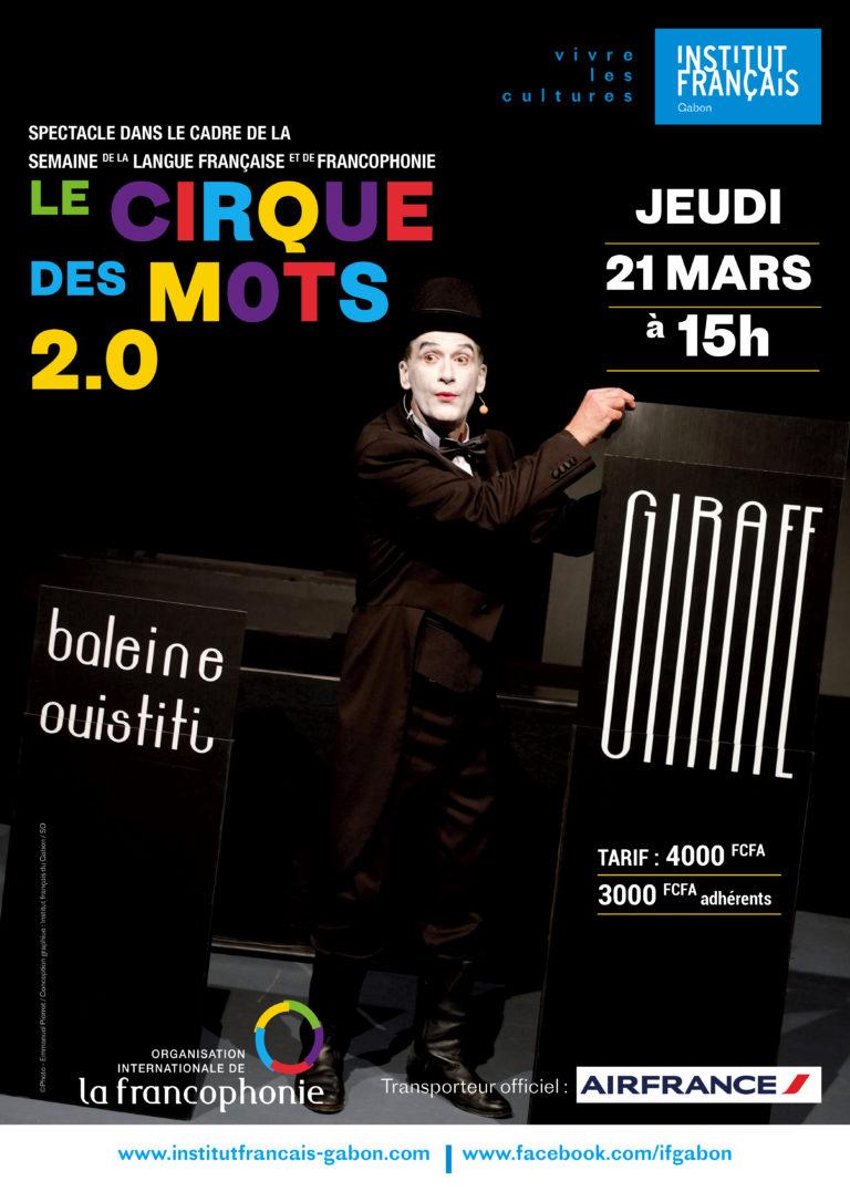 Institut français Gabon Cirque de mOts 2.0