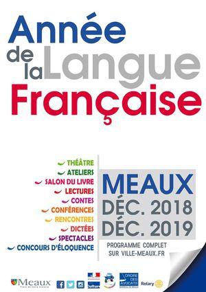 meaux année de la langue française